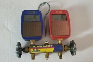 Yellow Jacket Digital Ac Charging Manifold Solar Powered Ritchie Manifold