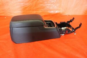 2017 Dodge Charger Hellcat Srt 6 2l Oem Black Leather Center Console Assy 1119