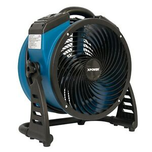 Xpower P 26ar Compact Industrial Axial Fan Air Mover With Daisy Chain Outlets