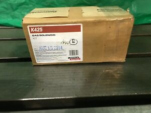 New Lincoln Welder Gas Solenoid K425 Kit