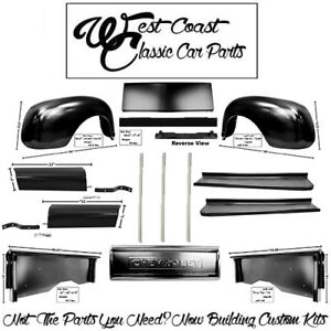 1947 1953 Chevy Fenders Bedsides Bed Ft Tailgate Aprons Braces Rr Cross Sill