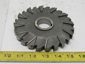 Moon 6 X 5 8 X 1 1 4 Arbor Cross Cut Mill Cutter Slitting Blade