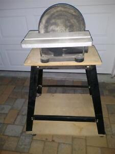 Central Machinery 12 Direct Drive Bench Top Disc Sander Used Slightly