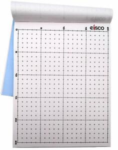White Non conductive Paper pack Of 100 Dry Field Mapping Paper Eisco Labs