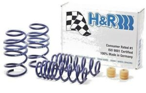 H R Sport Lowering Drop Coil Springs For Vw Mk7 Vii Golf Gti 2015 2018