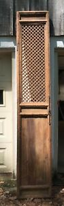 Antique Chinese Wooden Doors Set Of 4 Rustic Natural With Original Hardware