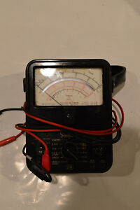 Simpson 270 Series 4 Analog Multimeter