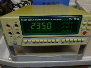 Metex True Rms Multimeter