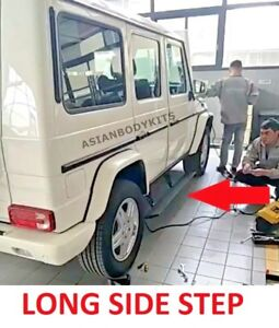 For Mercedes Benz G Class G63 G550 Side Step Electric Deployable Running Boards