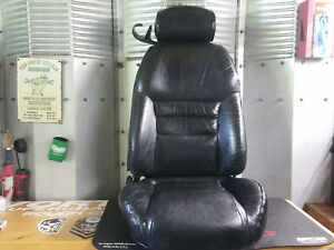 94 95 96 97 98 Ford Mustang Coupe Black Leather Seat Front Passenger Seat Used