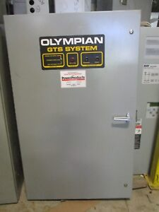 Olympian generac 200 Amp 3 480 Volt Automatic Transfer Switch Ats304