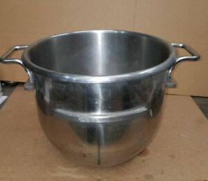 Original Hobart Stainless Steel 30 Quart Bowl For D 300 330 340 Hobart Mixers