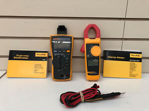Fluke 116 323 Kit Hvac Multimeter Clamp Meter Combo Kit Free Shipping
