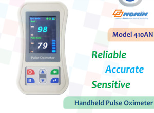 Handheld Pulse Oximeter 410a Nonin usa Based Oximeter Technology