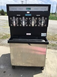 Taylor 349 27 Carbonated 4 Flavor Frozen Icee Slushie Drink Machine 1 Phase 3