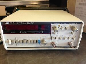 Hp 5315a Universal Frequency Counter With Manual Ar 10