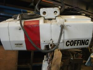 Coffing 5 ton Two speed Ec Three Phase Electric Chain Hoist Lug Mounted