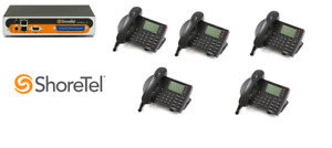 Shoretel 30 Ksu Voip Phone System W 5 230 Phones Telephones