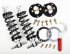New Aldan American Front Coilover Kit Adjustable Shocks Springs 65 73 Mustang Sb