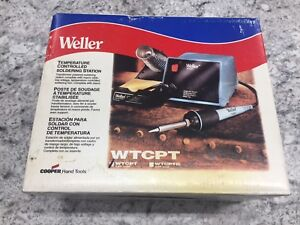 Weller Wtcpt Soldering Station 120v Stand Included Temperature Controlled 60w