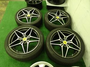 Set Of Ferrari California Oem Factory 20 Wheels Rims Pirelli Tires 5x114 3