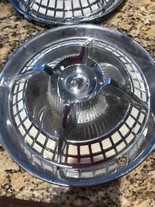 One 59 Dodge Lancer Flipper Spoke Style Knight Fiesta Hubcap 14
