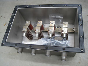 New Tyco Raychem 3phase High Voltage Link Box Hvlb Stainless Steel Svl Protect