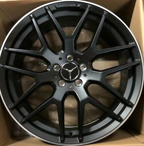 21 Oem Amg Gle450 Gle43 Powder Black Hybrid New Model 2017 2019 Mercedes Wheels
