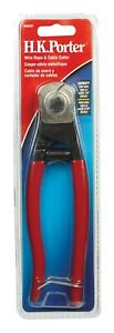 H k Porter 7 1 2 In L Red Cable Cutter 3 16 In