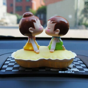 Car Accessory Decoration Toys Kiss Baby With Shaking The Head Dashboard Doll Nod