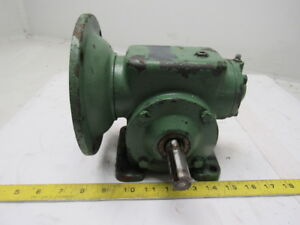30 1 Ratio 5 8 Input 3 4 Right Hand Output Shaft C face Gear Reducer