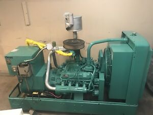75 Kw Natural Gas Generator Propane Cummins Onan 1 Or 3 Phase 50 Kw Generator