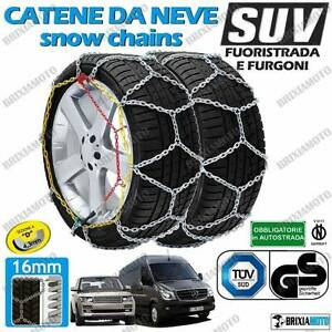 Snow Chains Todoterreno Van Camper 16mm S 16 285 70 R17 265 70 R17 5