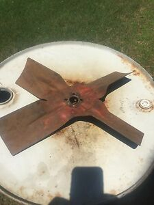 4 Blade Fan For Allis Chalmers D17 D19 Wc Wd45 Wf 170 175