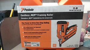 Paslode Cordless Li ion 30 Degree Framing Nailer Nail Gun Cf325xp