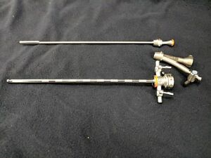 Olympus A2213 Cystoscope Sheath With Obturator And A20976a Telescope Bridge
