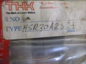 Thk Type Hsr20a2ss Linear Assembly 25 Rail With 2 Tables New Old Stock