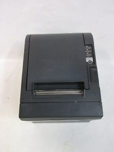 Epson Tm t88iii M129c Thermal Receipt Printer W Power Supply Network Interface