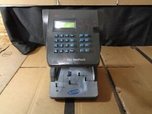 Adp Handpunch 4000 Biometric Hand Reader Time Clock
