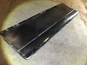 04 11 Lincoln Town Car Front Left Door Molding Lower Oem