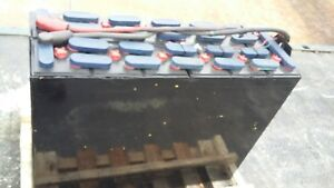 12 125 17 24 Volt 38x13 5x30 75 Forklift Battery Tested Serviced Clean 1000ah
