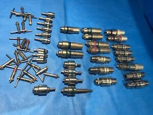 Lot Of Stryker 4100 Chuck Trinkle Jacobs Collet 001 002 4103 131 Reamer Hudson
