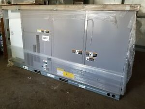 Carrier 10 Ton Ultra High Eff Package Unit 208 230v 3 ph R410a Gas elec 48lcf
