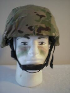 ACH MICH  HELMET WITH MULTICAM COVER SIZE MEDIUM