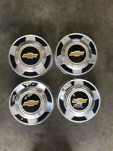 1973 82 Chevrolet 1 2 Ton Dog Dish Hubcaps For Pickup Trucks And Vans