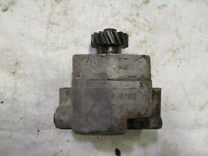 Farmall Ih Super A 100 Tractor Hydraulic Pump