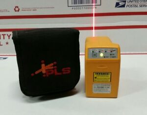 Pacific Laser Systems Pls 2 Palm Laser Yellow With Red Laser Beams