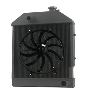 Tractor Radiator 16 fan For Ford new Holland 3230 3430 late 3930 4130 4630 Oz