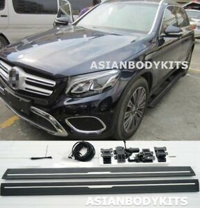 For Mercedes Benz Glc 2015 Side Step Electric Deployable Running Boards Power