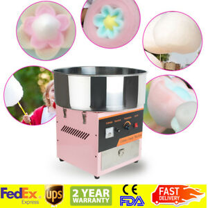 us 110v Electric Cotton Candy Machine Floss Maker Commercial Carnival Party